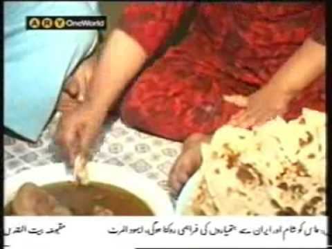 Girl Eats like Saad bai