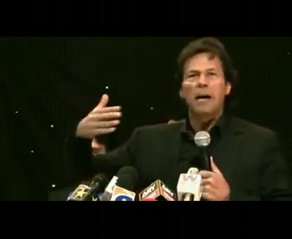 Imran Khan in Aggressively Funny Mood