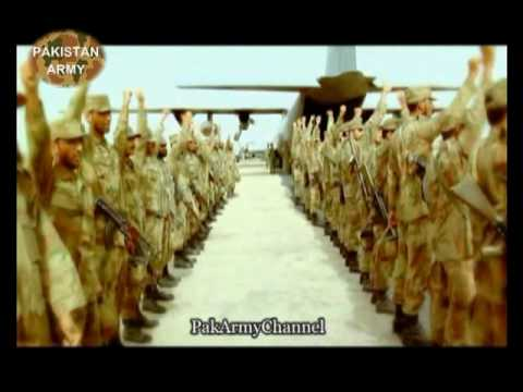 "Pakistan Army - Battle Song for exercise ""Azm-e-Nau"" 2010 - الله أكبر"