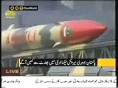 Indian and Pakistan's Missile Technology