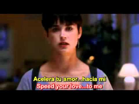 Unchained Melody - Ghost - Righteous Brothers - Lyrics English - Subtitulos Español