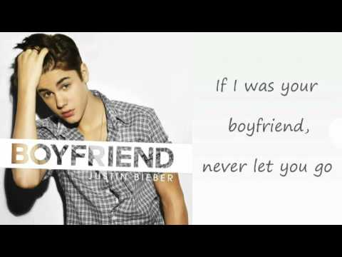 Justin Bieber - Boyfriend (Lyrics On Screen)