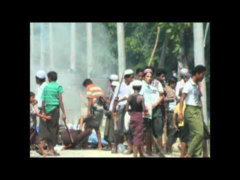 Myanmar people, police and army killed more than 20000 innocent Muslims in this month