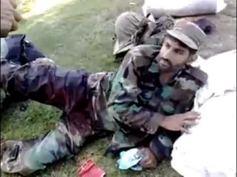 Brave Pakistani Soldier...still smiles after being Hit by several Bullets