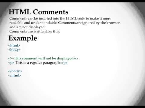 Chapter 6   HTML Heading, Horizontal line, Comments