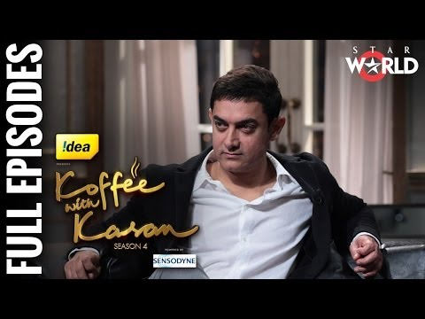 Koffee With Karan - Season 4 - Aamir and Kiran on Koffee With Karan - [Full Episode]