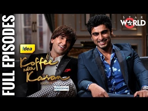 Koffee With Karan - Season 4 -- Ranveer Singh and Arjun Kapoor With Karan - [Full Episode]