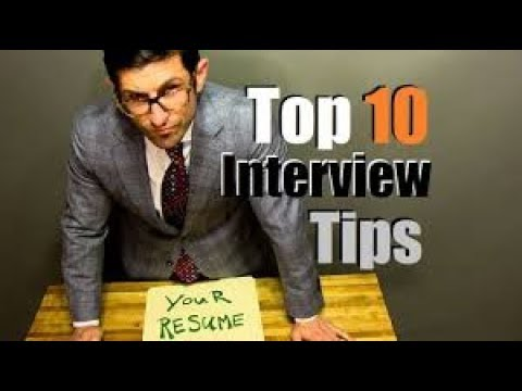 Top 10 Interview Tips To CRUSH Your Interview   YouTube