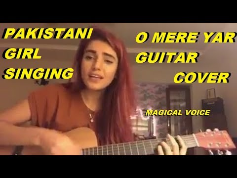 Guitar music-Pakistani girl  most magical voice latest cover from 2018