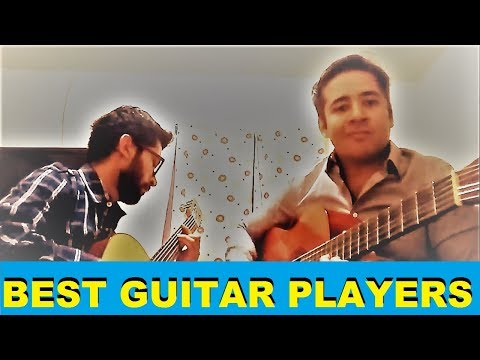 Guitar Music-When guitarists sit together and starts jamming.Best guitar players