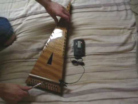 A Psimple Psaltery: Bringing a String up to Tune