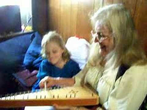Playing the Bowed Psaltry with Mimi