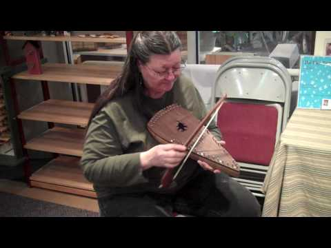 Tish Westman plays the Bowed Psaltry @ The Tamarac in WV