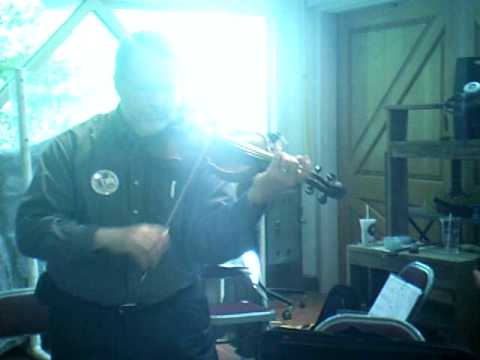 Impromptu Performance - First Annual Bowed Psaltery Symphony at Tamarack