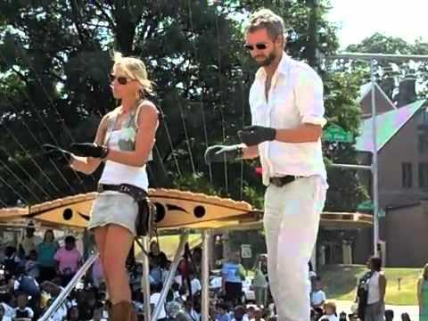 MASS Earth Harp Outdoor Performances