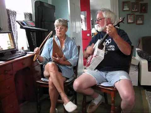 Liza Jane on Psaltery and Banjo
