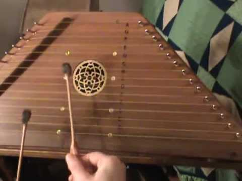 Greensleeves - hammered psaltery