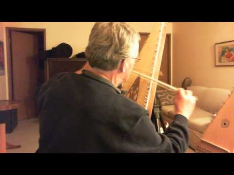 Bowed psaltery in A Minor