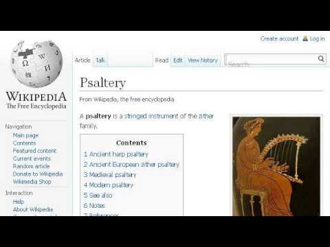 The History Of The Bowed Psaltery