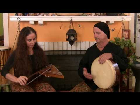 Rhythm Bazaar - Rast Oyun Havasi - Bowed Psaltery & Frame Drum Duet