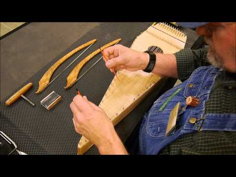 Salley Gardens - Baritone Bowed (plucked) Psaltery