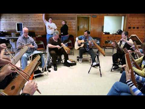Bowed Psaltery Jam - Hard Times