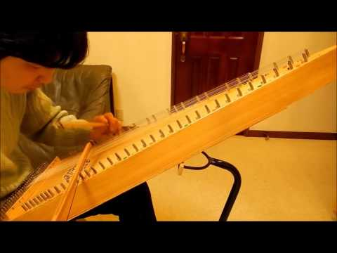 Swallowtail Jig on Bowed Psaltery スワローテイル・ジグ