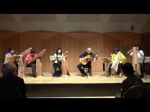 Canon  (Pachelbel, Johann) カノン Psaltery& Guitar SoLa