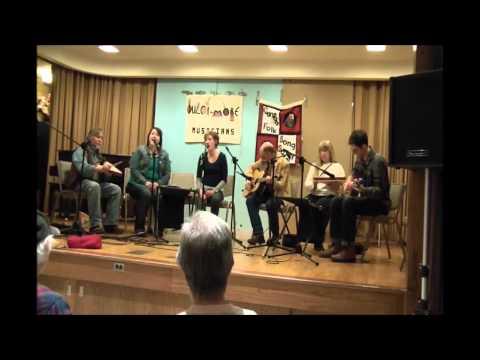 """Poor Wayfaring Stranger"" Daisy Hollow Band performing w/ Spring Creek Band 3/7/15"
