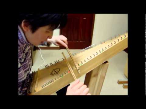Fisher's Hornpipe on Bowed Psaltery