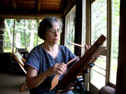 Largo on the bowed psaltery played by Sue C Wheeler
