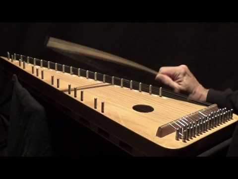 """LUSTIGE HASIDIM"" on Bowed Psaltery"