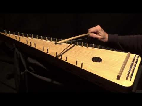 """MOSCOW NIGHTS"" on Bowed Psaltery"