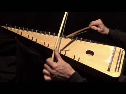 """THE PARTING GLASS"" on Bowed Psaltery"