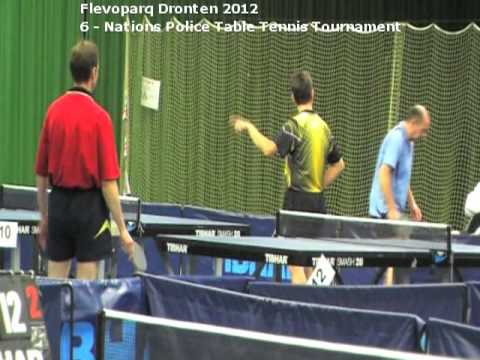 Flevoparq  Dronten 2012 / 6 Nations Police Table Tennis Tournament