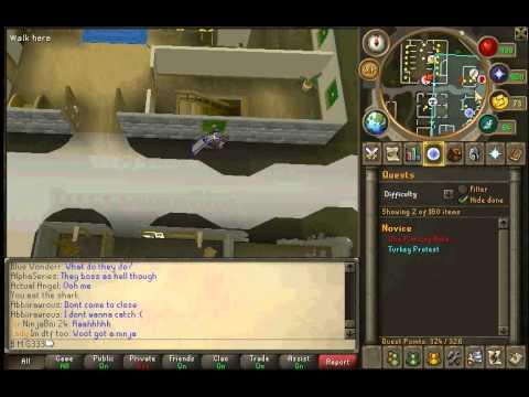 RuneScape thanksgiving 2011(Quest MD)