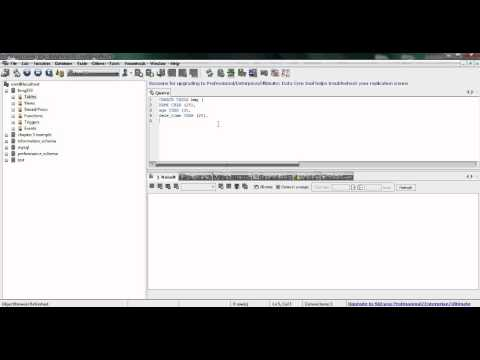 How to create a database (SQLyog)