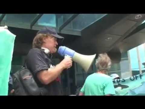 Brisbane anti whaling demo 4 Sea Shepherd Ady Gil