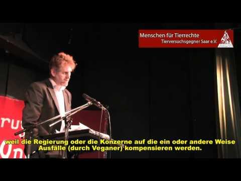 Dr  Steven Best speaks at a Vegan Brunch 25  September 2011