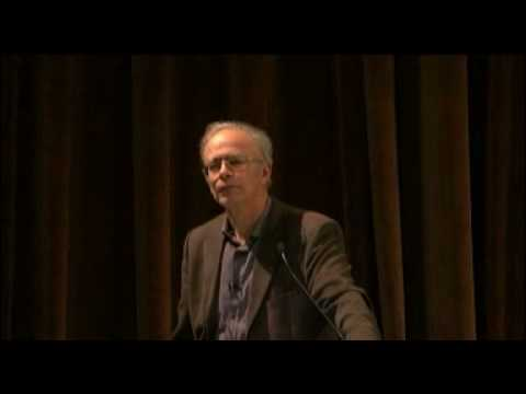 "Peter Singer: ""The Ethics of What We Eat"""