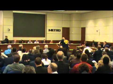 Steve Susman - April 26, 2012 - Houston Metro Transit Authority Board Meeting