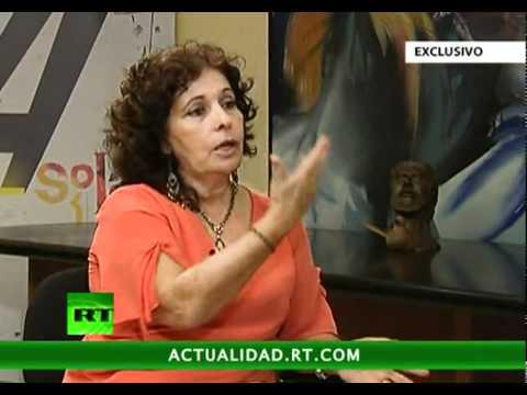 """A Solas con Olga Salanueva Arango, esposa de René González, uno de """"LOS CINCO'"""""""