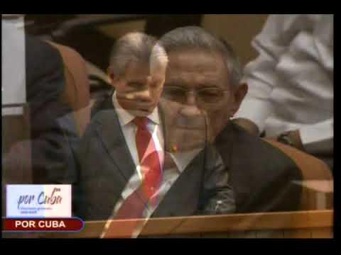 Asumo la responsabilidad con la convicción de que todos seremos fieles a Fidel y a Raúl.