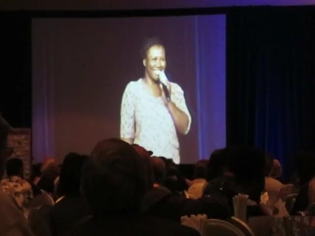 "Burn survivor, Johanna, Sings ""Killing Me Softly"" at the 2015 World Burn Congress."