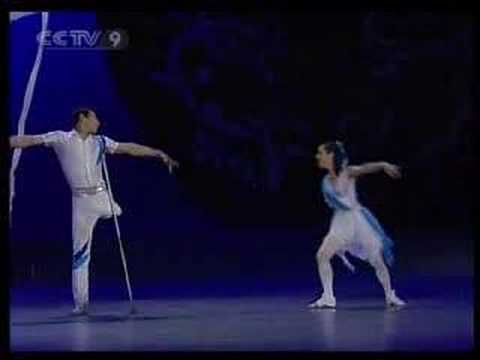 She without arm, he without leg - ballet - Hand in Hand