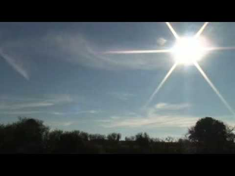 A day and a half of chemtrails time lapsed