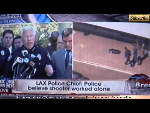 LAPD Chief Admits to Training For the Exact Scenario of the LAX Shooting Just 3 Weeks Ago