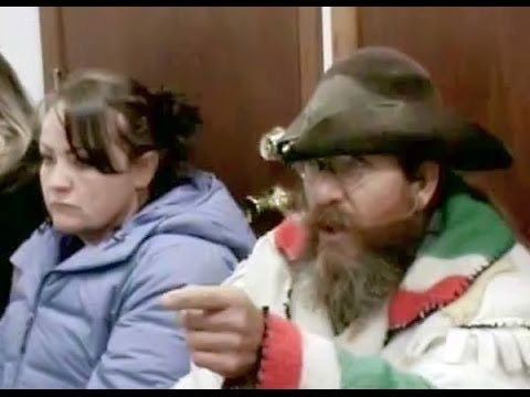 Mountain Man arrested for trying to feed himself, owns judge and walks out (fixed)
