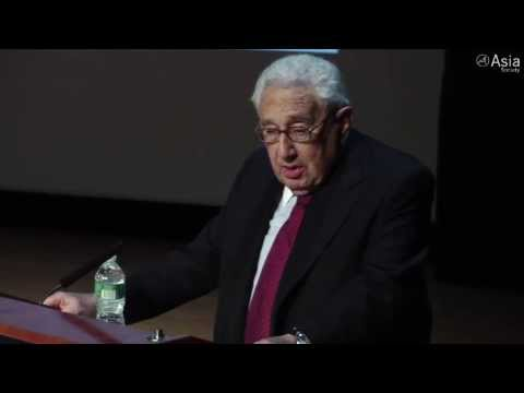 """Henry Kissinger: """"China and the US should work toward a one world government"""""""