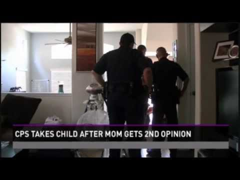 CPS Takes Child After Mom Gets 2nd Opinion